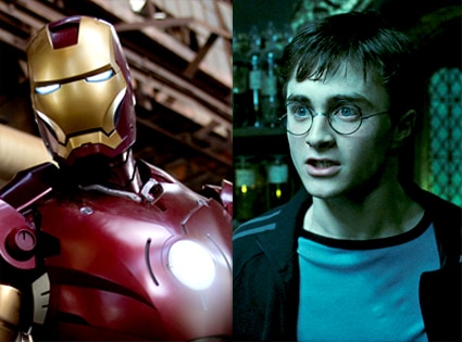Iron Man, Harry Potter, Daniel Radcliffe