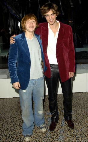 Rupert Grint, Robert Pattinson