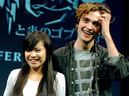 Katie Leung, Robert Pattinson