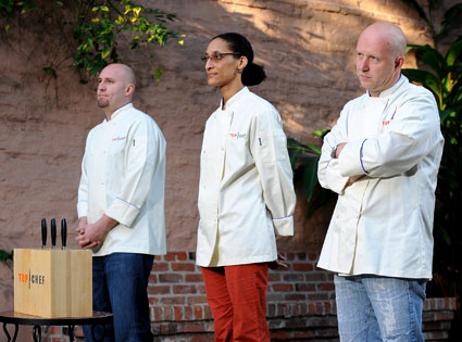 Stefan, Carla, Hosea, Top Chef