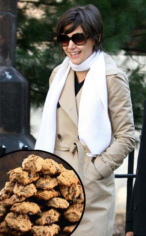 Katie Holmes, Chocolate Chip Cookies