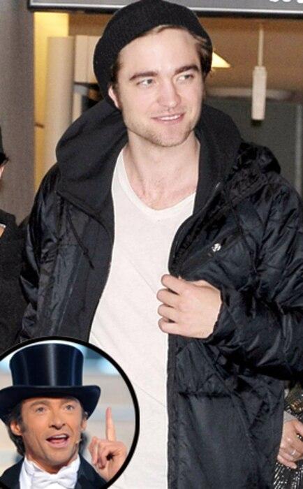 Robert Pattinson, Hugh Jackman