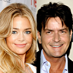 Denise Richards, Charlie Sheen