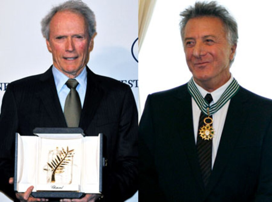 Clint Eastwood, Dustin Hoffman