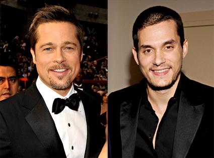 Brad Pitt, John Mayer