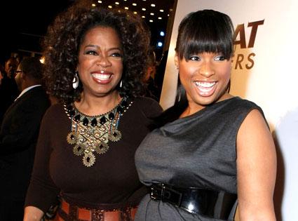 Oprah Winfrey, Jennifer Hudson
