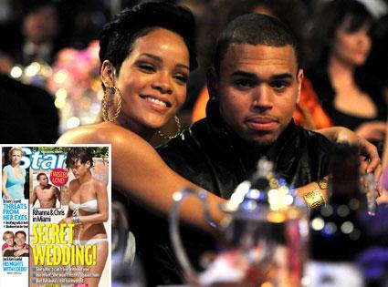 Rihanna, Chris Brown, Star Magazine