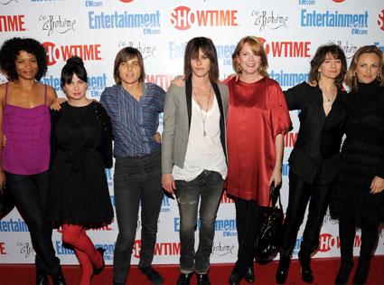 Rose Rollins, Mia Kirshner, Daniela Sea, Katherine Moennig, Laurel Holloman, Ilene Chaiken, Marlee Matlin