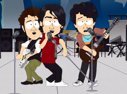 South Park, Joe Jonas, Kevin Jonas, Nick Jonas