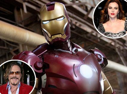 Iron Man, Scarlett Johansson, Mickey Rourke