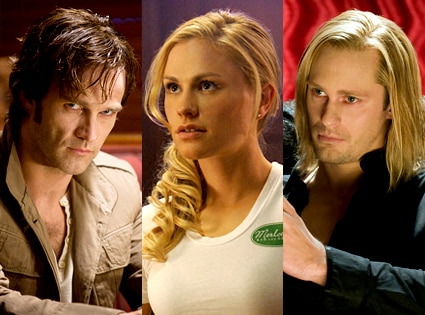 True Blood, Stephen Moyer, Anna Paquin, Alex Skarsgard