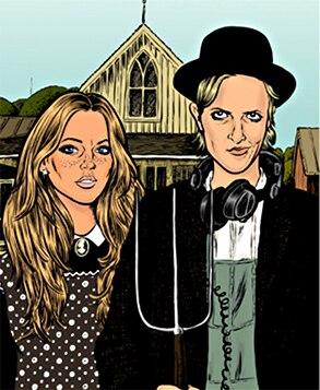 Lindsay Lohan, Samantha Ronson, Art