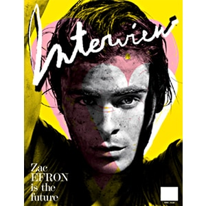 Zac Efron, Interview Magazine Cover