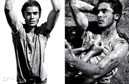 Zac Efron, Interview Magazine