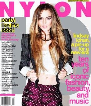 Linday Lohan, Nylon Magazine