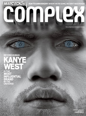 Kanye West, Complex Magazine Cover