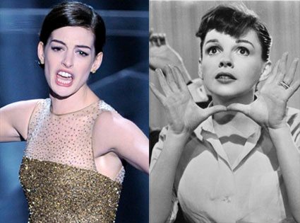 Anne Hathaway, Judy Garland