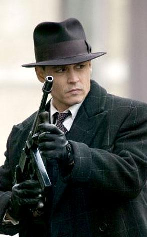 Public Enemies, Johnny Depp