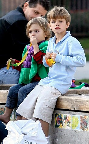 Kingston Rossdale, Romeo Beckham