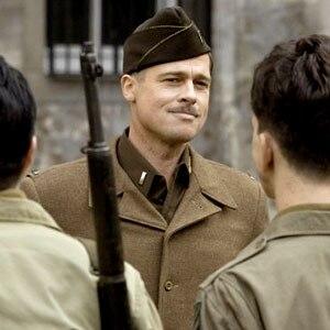 Inglourious Basterds, Brad Pitt