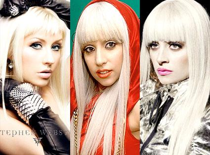 Christina Aguilera, Lady Gaga, Nicole Richie
