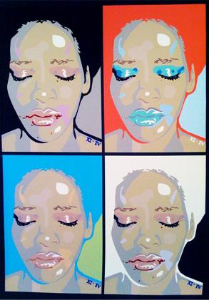 Sham, Rihanna art