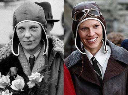 Hilary Swank, Amelia, Amelia Earhart