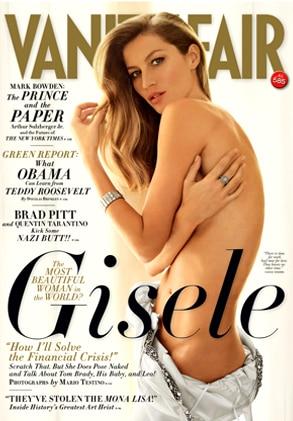 Gisele Bundchen, Vanity Fair Magazine