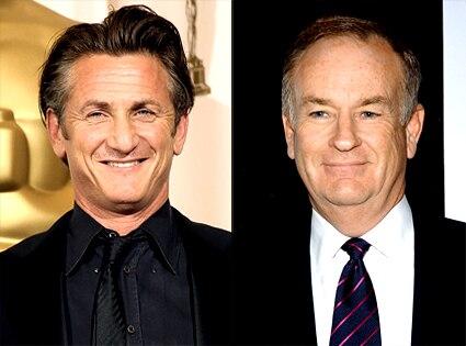 Sean Penn, Bill O'Reilly