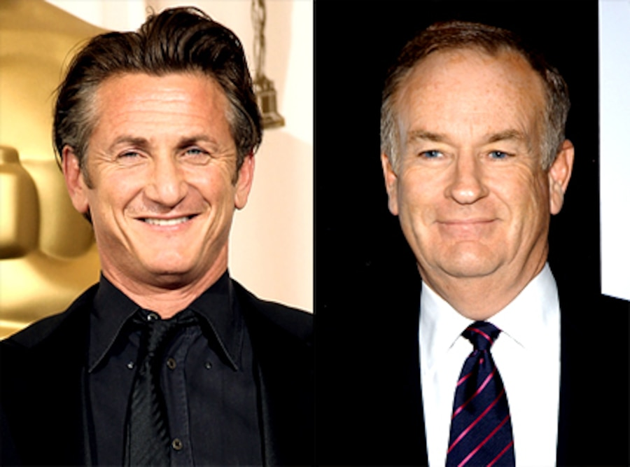 Sean Penn, Bill O'Reilly