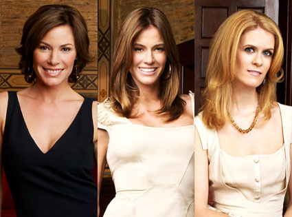 Alex McCord, Kelly Killoren Bensimon, Countess LuAnn du Lesseps, Real Housewives of New York