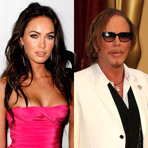 Megan Fox, Mickey Rourke