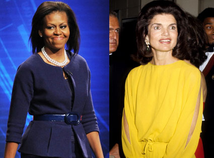 Michelle Obama, Jackie Onassis