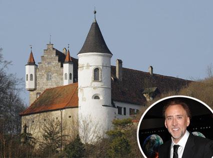 Nicolas Cage Castle