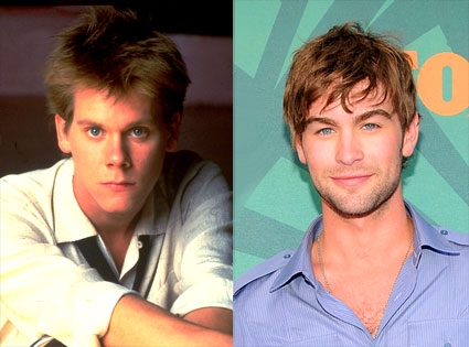 Kevin Bacon, Chace Crawford