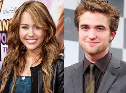 Miley Cyrus, Robert Pattinson