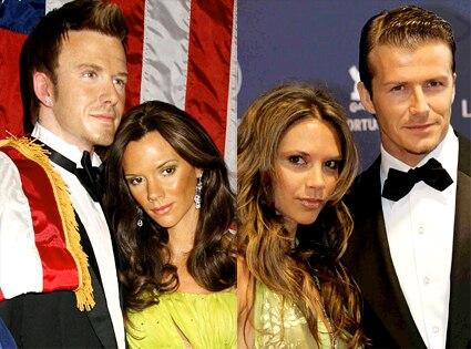 Wax David Beckham, Wax Victoria Beckham, David Beckham, Victoria Beckham