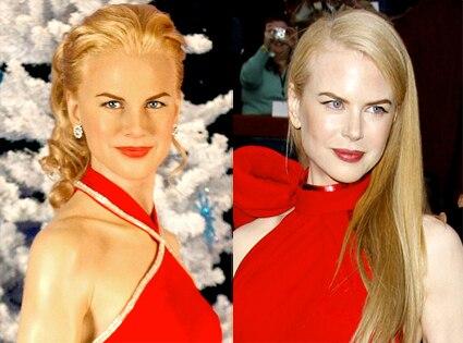 Wax Nicole Kidman, Nicole Kidman