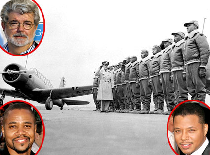 Tuskegee Airmen, George Lucas, Cuba Gooding Jr., Terrence Howard