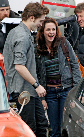 Robert Pattinson, Kristen Stewart, New Moon