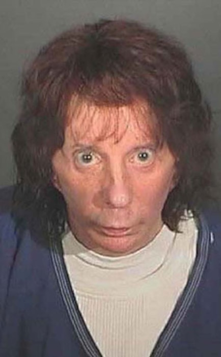 Phil Spector, Booking Photo