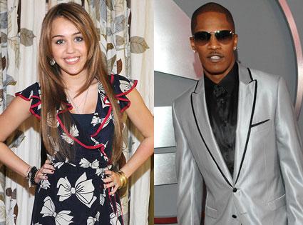 Miley Cyrus, Jamie Foxx