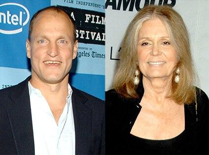 Woody Harrelson, Gloria Steinem