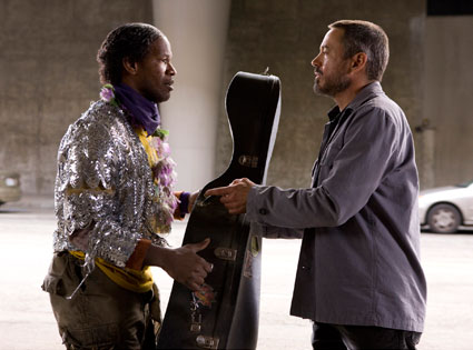 Jamie Foxx, Robert Downey Jr., The Soloist