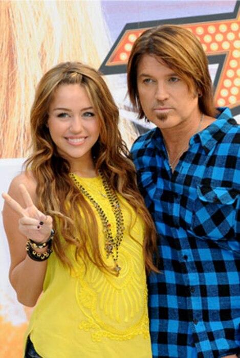 Miley Cyrus, Billy Ray Cyrus