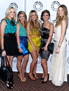 Stephanie Pratt, Lo Bosworth, Lauren Conrad, Audrina Patridge, Whitney Port