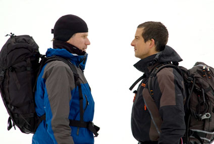 Will Ferrell, Bear Grylls, Man Vs. Wild