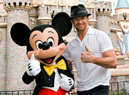 Hugh Jackman, Mickey Mouse