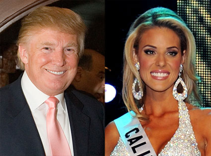 Donald Trump, Miss California Carrie Prejean