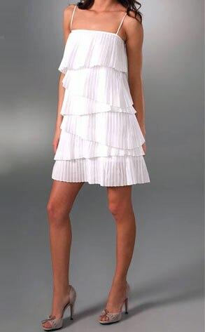Loeffler Randall Pleated Dress